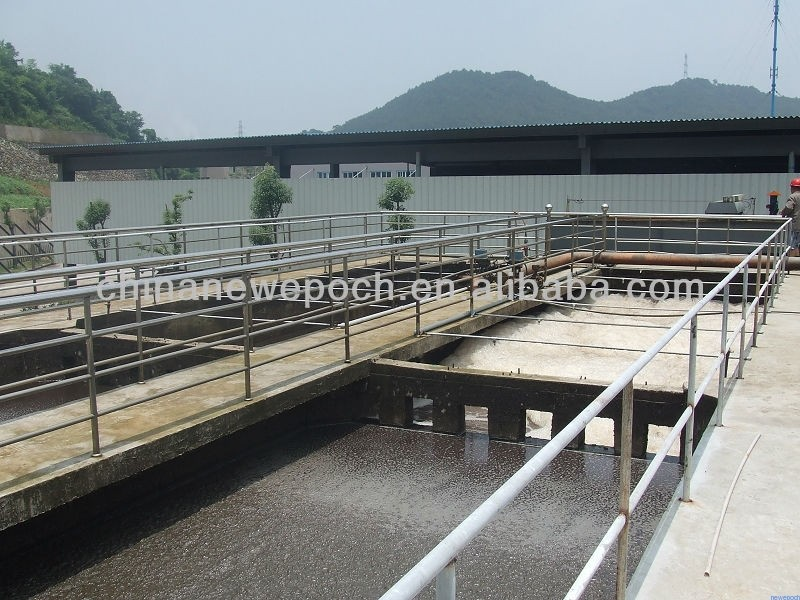 The slaughter wastewater treatment system