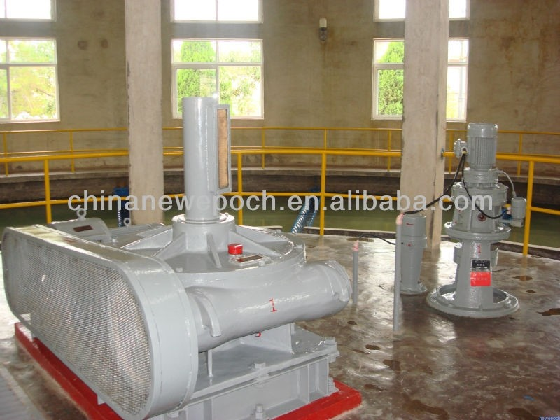 water treatment worm gear box